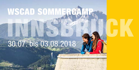WSCAD Sommercamp 2018